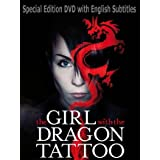 The Girl With the Dragon Tattoo (Man som hatar kvinnor) Special Edition DVD with English Subtitles [Imported] [Region 2 DVD] (Swedish) ~ Michael Nyqvist