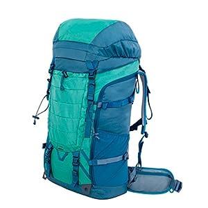 TGLOE Trekking Rucksäcke 55L Spezialisiert im Freien Wandern Rucksäcke Mode Rechteck Art Rein Farbe Bergsteigen Rucksäcke Langlebige Reißfestigkeit Rucksäcke 36cm * 20cm * 73cm (Blau Fehlt)