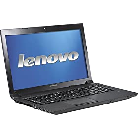 Lenovo IdeaPad B575 1450AHU with AMD Dual-Core E-450 Processor, 4GB DDR3 Memory, 15.6-inch Widescreen Display, 320GB Hard Drive, and Windows 7 Home Premium