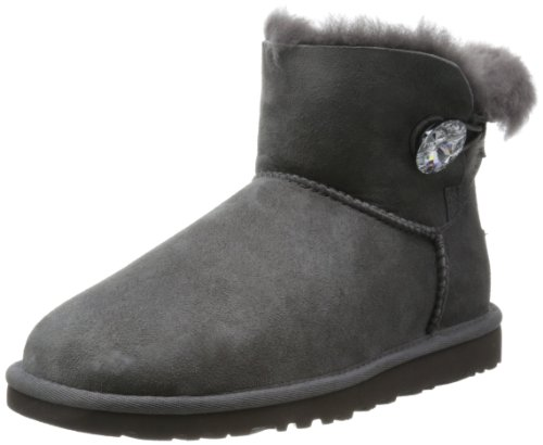UGG Chaussures - MINI BAILEY BUTTON BLING - black