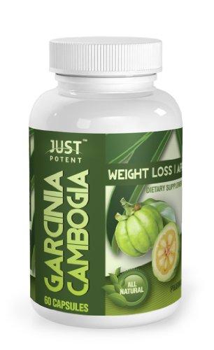 Just Potent Pharmaceutical Grade Garcinia Cambogia 65% HCA :: 1000mg Per Serving :: 60 Capsules