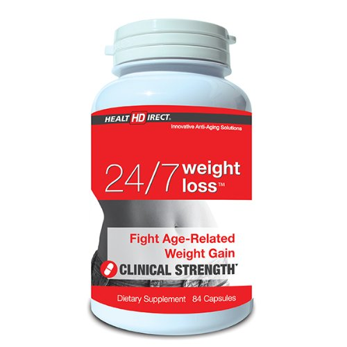 Health Direct - 24/7 Anti-Aging Weight Loss Support - 84 Capsules