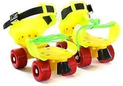 AURIONROLLER SKATES ADJUSTABLE FOR KIDS SKATING SHOES WITH FRONT BRAKE