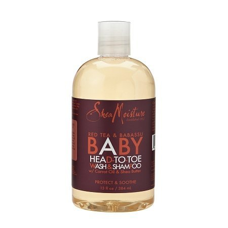 Sheamoisture Red Tea & Babassu Baby Head-to-toe Wash & Shampoo