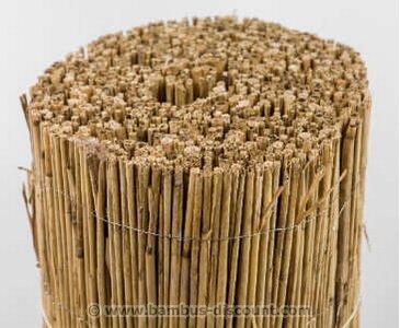 Schilfrohrmatte Premium, 100 x 600cm Sichtschutzmatte Schilfmatten von bambus-discount.com auf Gartenmöbel von Du und Dein Garten