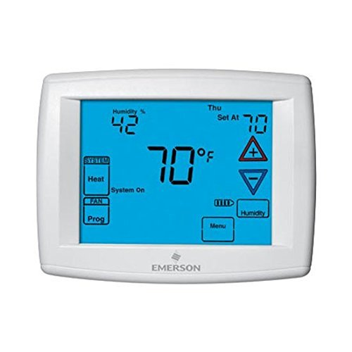 Ez-Flo 77096 Emerson White Rodgers Programmable Touch-Screen Thermostat Multi-Stage 4 Heat 2 Cool (Ez Heat Thermostat compare prices)