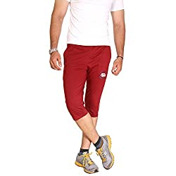 Men's Cotton Capri in Scarlet Red by Bongio_RMS5A4001C_XL