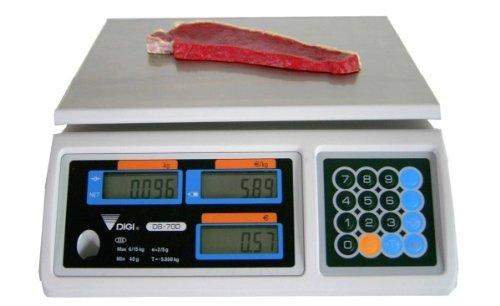 GundG dIGI dS - 6 kg/2 700 g balance commerciale calibré jusqu'à fin 2017