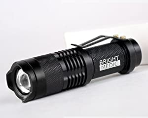 200 Lumen Mini Bonfire, Compact UltraBright Cree LED Flashlight