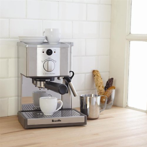 Breville Coffee Maker Stopped Working : Breville Esp8xl Cafe Roma Stainless Espresso Maker from Breville at the Nosara Coffee