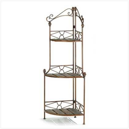 Cook N Home 2 Tier Corner Storage Shelf Stainless Steel
