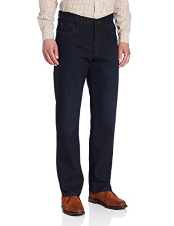 IZOD Men's Relaxed Fit Denim, Ink Wash, 34x34