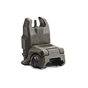 Magpul Gen 2 MBUS Front Flip Sight, Foliage Green