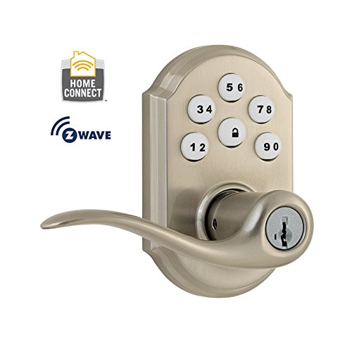 Z Wave Home Control Kwikset Smartcode 912 Z Wave Lever Lock