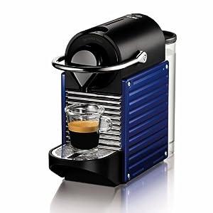 pas cher krups yy1203fd nespresso pixie machine espresso bleu indigo machine caf. Black Bedroom Furniture Sets. Home Design Ideas