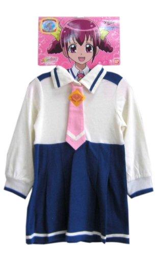 (スマイルプリキュア) キッズ星空みゆきの変身制服ワンピース長袖