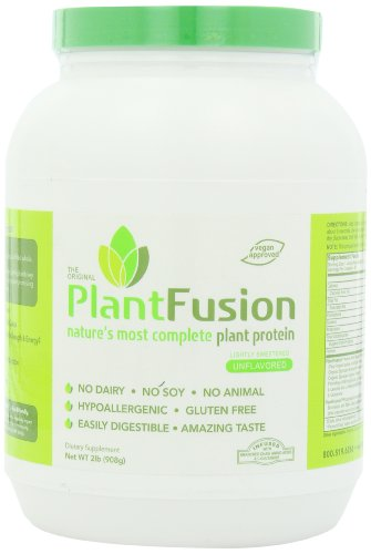 PlantFusion Diet Supplement, Natural Unflavored, 2 Pound