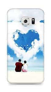 Amez designer printed 3d premium high quality back case cover for Samsung Galaxy S6 Edge (Love Dreams)