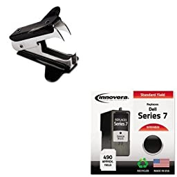 KITIVRDH828UNV00700 - Value Kit - Innovera DH828 Compatible (IVRDH828) and Universal Jaw Style Staple Remover (UNV00700)