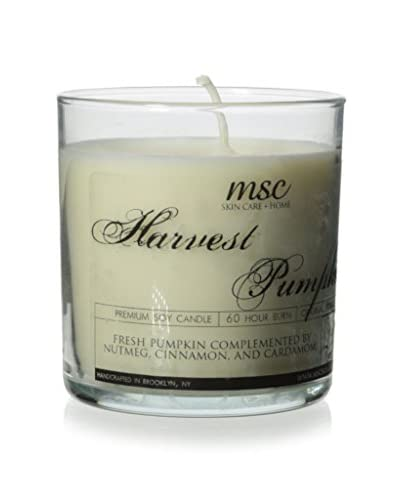 MSC Skincare & Home 8-Oz. Harvest Pumpkin Limited Edition Soy Candle