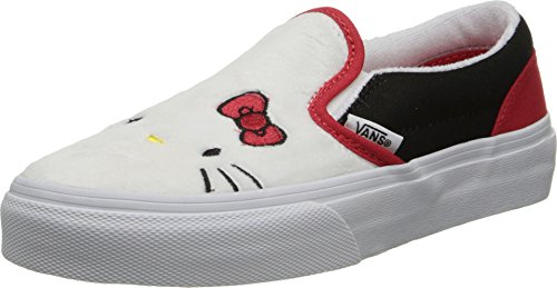 Vans-Kids-Girls-Classic-Slip-On-Hello-Kitty-Little-KidBig-Kid-Hello-Kitty-PlushTrue-White-135-Little-Kid-M
