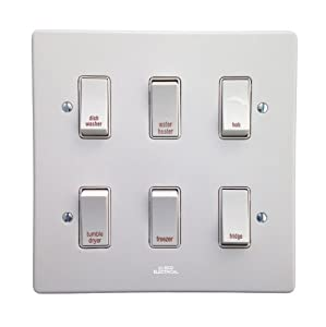 Crabtree Kitchen Grid Control Switch