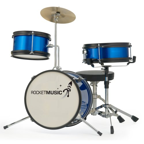 rocket-dkj01bl-3-piece-junior-drum-kit