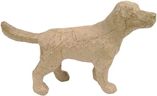 Paper Mache Figurine 4.5''-Dog