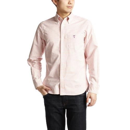 (コーエン) COEN カラーギンガムチェックBDシャツ 75106023026