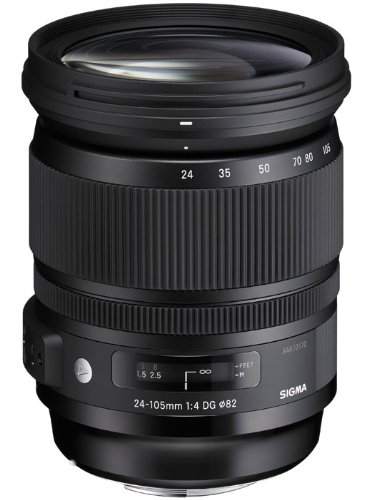 Sigma 24-105 mm / F 4,0 DG/HSM Objectifs