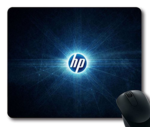 Custom Super Mouse Pad with Hp Logo Abstract Non-Slip Neoprene Rubber Standard Size 9 Inch(220mm) X 7 Inch(180mm) X 1/8 Inch(3mm) Desktop Mousepad Laptop Mouse pads Comfortable Computer Mouse Mat