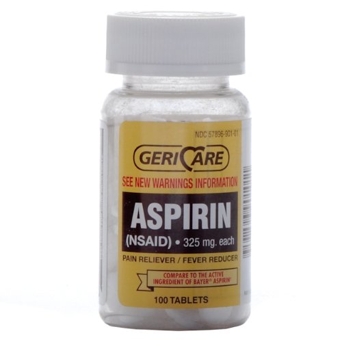 Bottled Aspirin 100 bottleB0006GE5F4