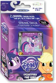 My Little Pony Enterplay Collectible Card Game Twilight Sparkle & Applejack Theme Deck [59 Cards] - 1