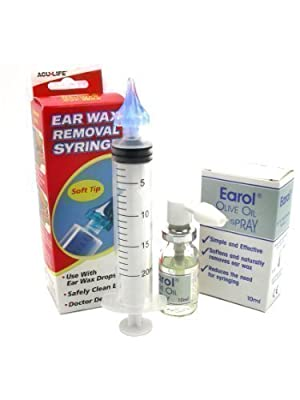 Earol & Aculife Ear Wax Removal Syringe kit
