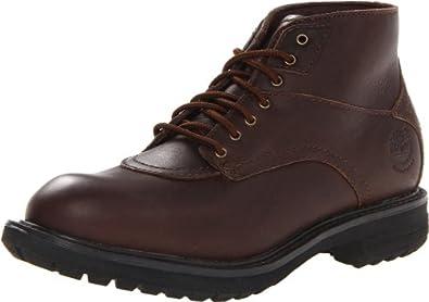 天木兰 Timberland 男士超帅时尚真皮短靴 Ryker Chukka 深棕色 折后 $74.47