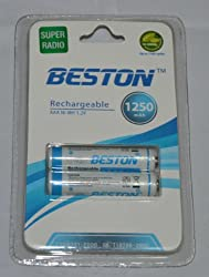 BESTON Rechargeable AAA Ni-MH 1.2v Battery