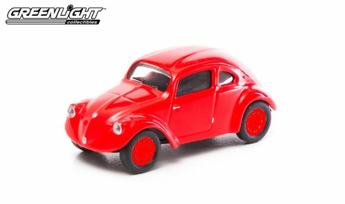 VW typ 30 predotype, red , Model Car, Ready-made, Greenlight 1:64
