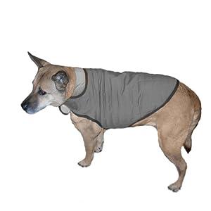Advance Pet Products Nanotex Dog  Coats, 22-Inch, Grey