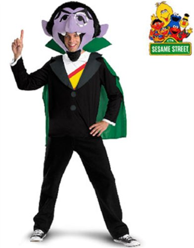 The Count Costume - X-Large - Chest Size 42-46