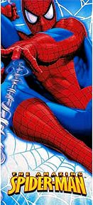 The Amazing Spiderman 54in x 102in Plastic Tablecover - 1