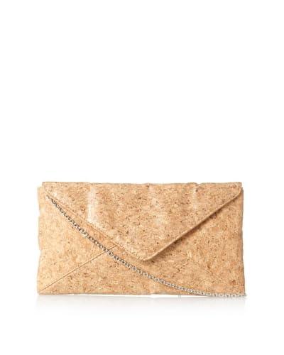 Jessica McClintock Women's Cork Envelope Clutch, Cork