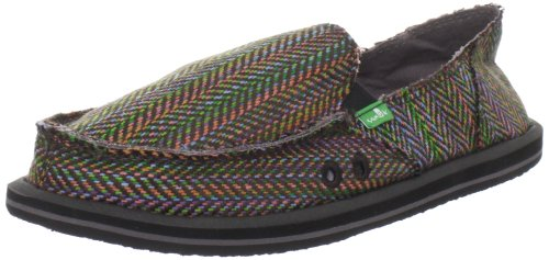 Sanuk Women's Rio Slip-On,Rainbow,8 M US