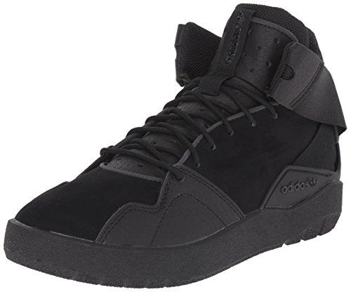adidas Originals Crestwood Mid J Shoe (Big Kid),Black/Black/Black,4 M US Big Kid (High Top Adidas For Boys compare prices)