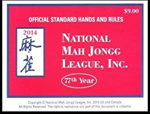 National Mah Jongg League Scorecard (Large) 2014