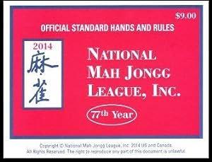National Mah Jongg League Scorecard (Large) 2015