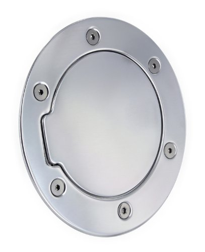 AMI 6098P Race Style Polished Non-Locking Billet Fuel Door