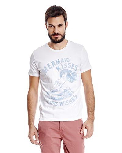 Wrangler Camiseta Manga Corta Blanco