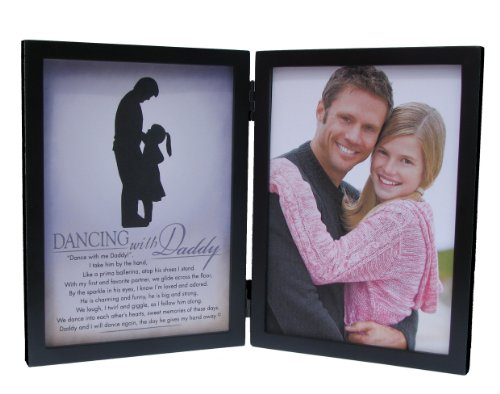 The Grandparent Gift Co. Silhouette Frames Dancing With Daddy Frame