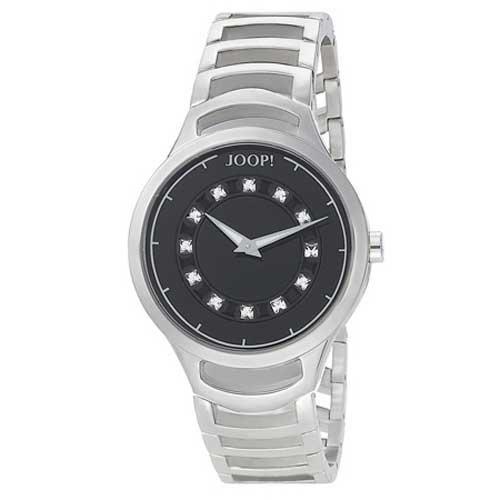 Joop Ladies 2H JP100862F01 - Reloj analógico de cuarzo para mujer, correa de acero inoxidable chapado color plateado