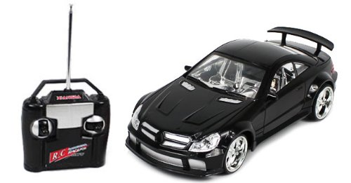 Electric 1:18 Mercedes Benz SL65 AMG Black Series RTR RC Car by AirsoftRC.com